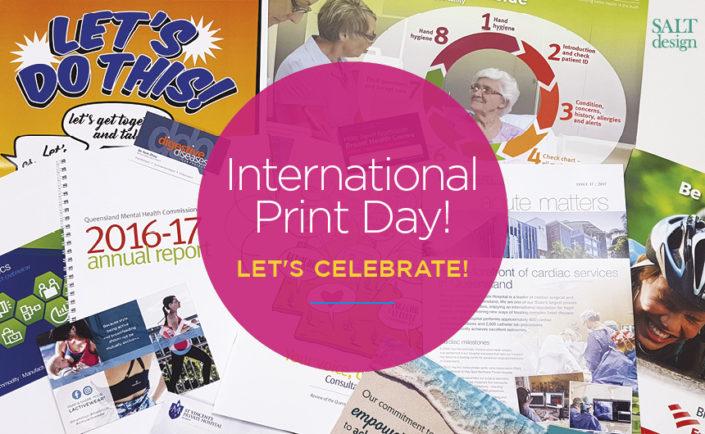 International Print Day - Let's Celebrate